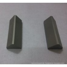 Customized Triangular Tips of Cemented Carbide
